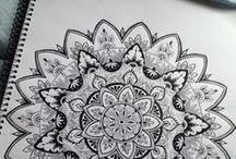 ♥ Zentangle ♥ Doodles ♥ Mandalas ♥