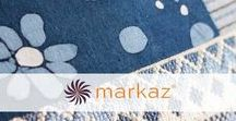 Markaz @ Pomegranate / Markaz is a great company from Egypt whose owner is actively working to promote the beautiful craftsmanship of small communities all across the country. His collection of patchwork cushions has become well known and respected.  You can see our collection of Markaz pieces here https://www.pomegranate-living.com/collections/markaz