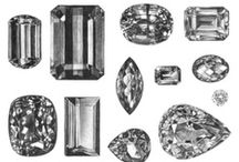 """Jewls Upon Jewls. / """"Diamonds are a girl's best friend."""" / by Maggie Tully"""