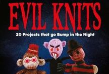 Evil Knits / What happened when characters from Evil Knits invaded the Bloomsbury office.