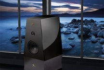 Volterra - Rosso Fiorentino Medium-Sized Floorstanding Speaker / The Reference series represents the quintessential expression of RF's design where the concept of elegance, in technology and look, is seen as the key to performance