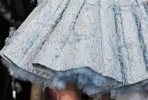 Fairytale Fashion / Flamboyance, florals, tulle and glitter.