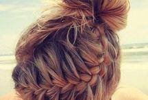 Hairstyles!! / Cute hair styles for school. Weddings, anything