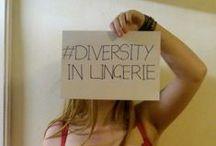 Diversity In Lingerie / http://www.bralessinbrasil.com/2013/08/diversityinlingerie.html