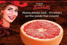 Scarlett Says / Say hello to Sweet Scarletts: the reddest, sweetest, and best Texas grapefruit you've ever tasted. / by Sweet Scarletts