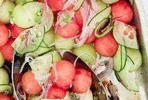 Melon salads / Fresh healthy Aussie melons make great salads