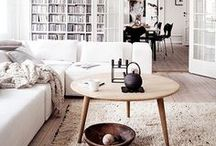 """The Living Room / """"We shape our dwellings, and afterwards our dwellings shape us"""" - Winston Churchill"""