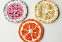 Crochet Doily and Coasters