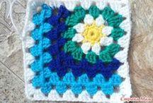 Crochet Square, Triangle