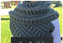 Crochet Cowls, Shawls and Hats