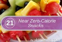 Healthy snacks and drinks / Healthy food to snack on and drinks worth drinking etc
