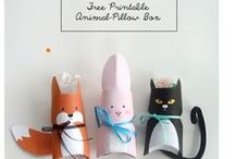 Easter projects and ideas / DIY your easter with the cute ideas and crafty projects - so give it a go