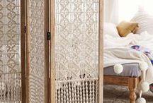 Home details / Lamps, ornaments, storage ideas, fabrics.