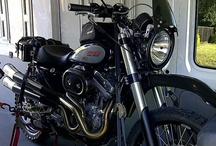 SC3 / SC3 Dual Sport conversion of an anniversary edition HD Sportster