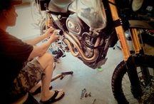 Designing the SC3 Adventure / design of the SC3 Adventure dual sport motorcycle