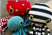 Ocean Inspired Crafts / Oodles of ocean inspiration of the sea-loving crafter. Beach crafts for all ages. / by Heal the Bay