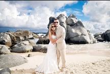 Beach wedding ideas / Ideas for ceremony, trash the dress, sand ceremony and so much more... #beach #ideas #wedding