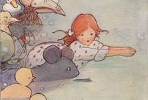 Alicewinks & Alice Herself / Artwork of Alicewinks, Featuring Alice Herself.  Alicewinks.  19th Century Fantasy.  20th Century Imagery.  21st Century Technology.