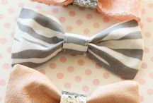 Creating bows / DIY bows and decorations for hair / by Scarlett Swan