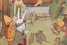 Alicewinks & The White Rabbit / Artwork of Alicewinks, Featuring the White Rabbit.  Alicewinks.  19th Century Fantasy.  20th Century Imagery.  21st Century Technology.
