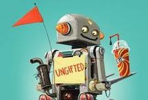 Robots / Inventive books for kids of all ages