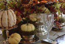 Fall Into Autumn - Halloween & Thanksgiving. / by Elizabeth Sheehan
