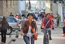 Bike friendly cities / What better way to explore than to go by bike? These cities were proved to be the bike friendliest cities in the world. Go ahead, go on an adventure.
