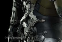 Armors, Mechs, Robots and other stuff