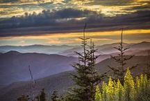 Around Cherokee, NC / Explore the breathtaking beauty of the Great Smoky Mountains which surround Cherokee, NC. There is so much to see and do outdoors-- the wildlife, the waterfalls, the trails and of course the magic and history of the Cherokee people in Cherokee, NC.