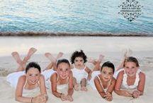 Family Portraits in Aruba by Bella Aruba / Aruba has many locations to capture family moments.