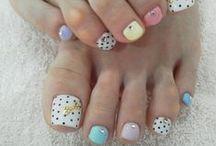 toe nail designs