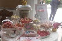 Βάπτιση / Christening / μπισκοτάκια και άλλα γλυκάκια σκέτα ή σε candy bars για τις βαπτίσεις
