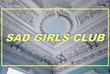 S͓̽ad Girls Club  Ƹ̵̡Ӝ̵̨̄Ʒ / ☆ ☹ Babes. ☆ ** (aesthetic things only plz) **