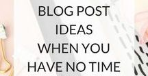 Blogging tips / Blogging tips that come in most handy!