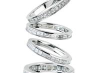 Engagement ring / Wedding bands