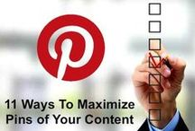Tips on Pinterest / by Web Strategy Plus