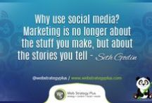 Social Media Quotes / by Web Strategy Plus