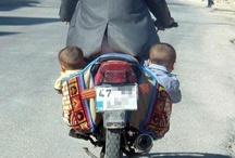 100 Arten sein Baby zu transportieren