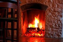 Fireplaces / by Grace