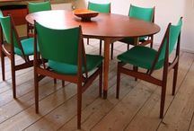 MCM Dining Tables And Chairs / by Nancy
