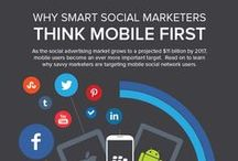 Awesome Social Media Infographics / Fascinating information about social media marketing and engagement. / by Web Strategy Plus