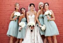 Brides + Bridesmaids / Bridesmaids are such an important part of your special day as their job is support the bride in her decisions and to keep her calm before and during the #wedding! Here are some of our favorite bridesmaid images and ideas to inspire you and your friends.