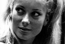 Catherine Deneuve - black and white