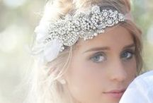 Bridal Accessories / Passionate about helping you look and feel confidently beautiful. Visit AmandaBadgleyDesigns.com for more bridal style advice
