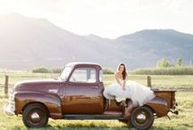 Rustic Wedding / Passionate about helping you look and feel confidently beautiful. Visit AmandaBadgleyDesigns.com for more inspiration