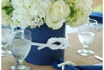 Coastal Nautical Wedding / Passionate about helping you look and feel confidently beautiful. Visit AmandaBadgleyDesigns.com for more inspiration