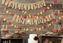 Fall Wedding Inspiration / Let's Fall In Love