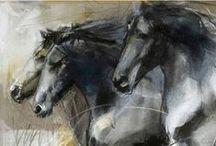 HORSE ART (Kone v umení) / by Hanita Bananita