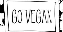 Go Vegan / Tips, tricks, ideas, and inspiration for an easy transition to going vegan.