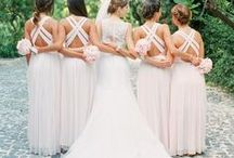 Bridesmaid Dresses / Passionate about helping you look and feel confidently beautiful. Visit AmandaBadgleyDesigns.com for more bridal style advice